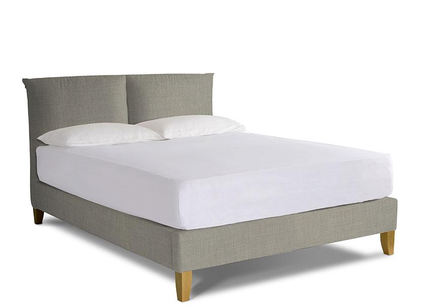 Lavender Upholstered Bed